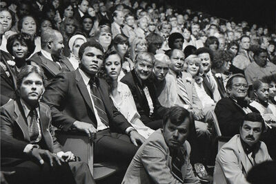 Brad Elterman, 'Ali in Sea of Faces', 1979