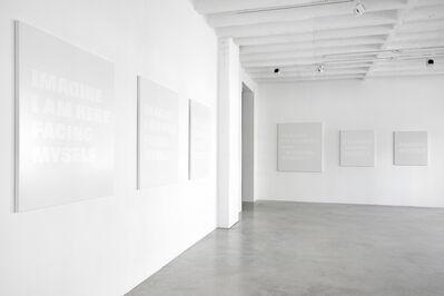 Remy Zaugg, 'I, myself.', 2002/2003