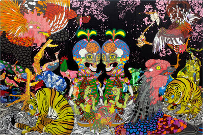Keiichi Tanaami, 'Jakuchu - Magnificent Flowers and Birds',  2015