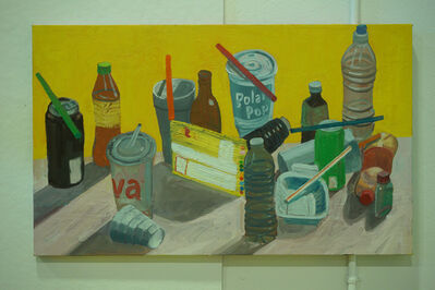 Ezra Johnson, 'Seven Straws and Objects', 2018