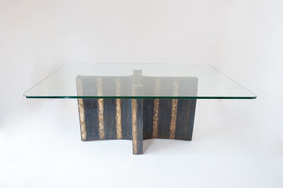 Paul Evans (1931-1987), 'Welded Steel Dining Table', 1965
