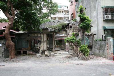 Lara Almarcegui, 'Removing the outside wall of a ruined house, Quidongstreet Taipei', 2008