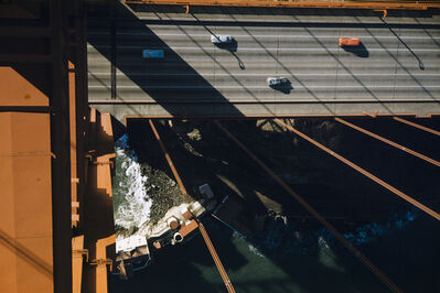 Werner Bischof, 'The Golden Gate Bridge from above, San Francisco, USA', 1953