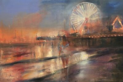 Gregg Chadwick, 'Santa Monica Nocturne', 2019
