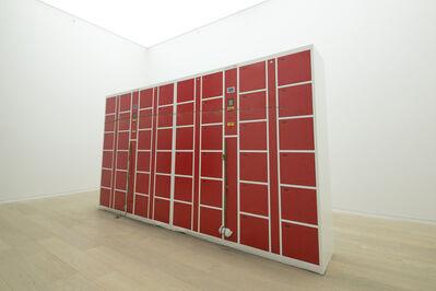 Matias Faldbakken, 'Untitled (Coin Locker Sculpture)', 2012