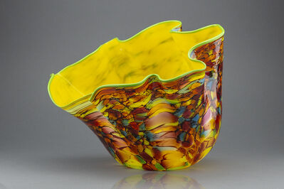 Dale Chihuly, 'Dale Chihuly Carnival Macchia Signed Handblown Glass Contemporary Art', 1990-2010