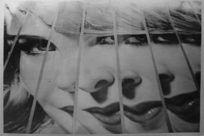 Dennis Hopper, 'Fractured girl (billboard), Los Angles', ca. 1988