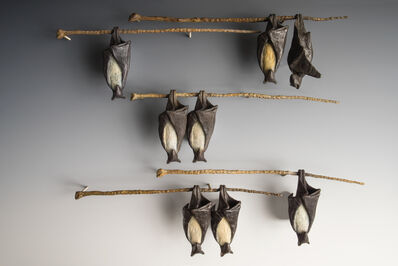 Copper Tritscheller, 'Temple Bats on a Branch', 2016-2019