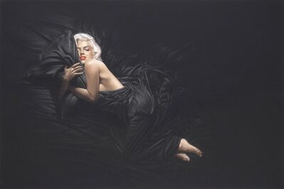 Michael Moebius, 'Everybody's Dream - Marilyn Black Sheets'