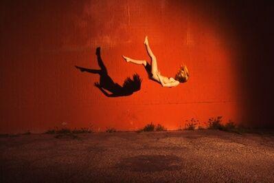 Tyler Shields, 'Red Wall', ca. 2018