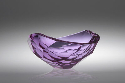 Tomáš Brzon, 'Purple Cut Bowl', 2016