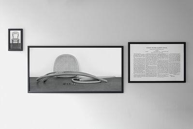 Joseph Kosuth, 'Thonet in Triplicate', 2019