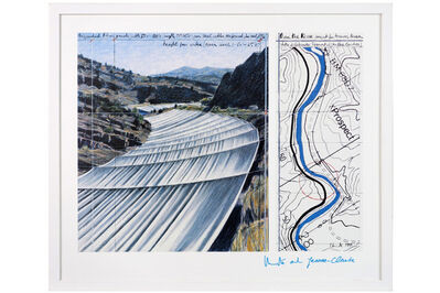 Christo and Jeanne-Claude, 'Over the River, Project for Arkansas River, State of Colorado', 1999