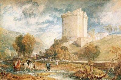 J. M. W. Turner, 'Borthwick Castle', 1818