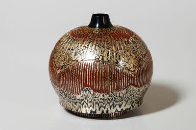 Tamagawa Norio, 'Mokume-gane Vase 093', 2003