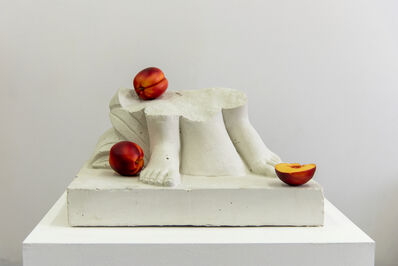 Tony Matelli, 'Feet (nectarines)', 2020