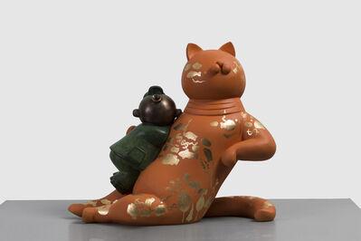 Jiang Shuo, 'Orange Cat - Ocean 桔猫 – 海洋', 2018