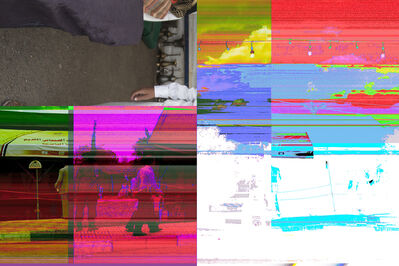 Arif Al Nomay, 'RCOVERY UNCERTAIN MEMORY Corrupted Files Series_file3690', 2014