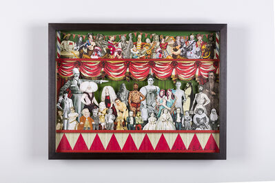 Peter Blake, 'Circus Collage Centre', 2013