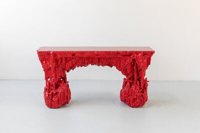 Chris Schanck, 'Grotto Console: Pomegranate', 2019