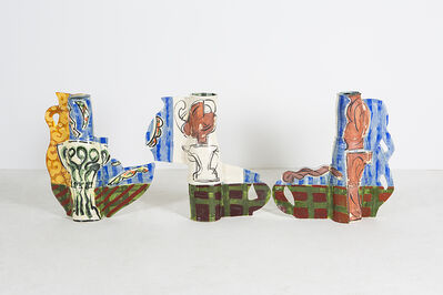 Betty Woodman, 'Vases and Girls', 2010