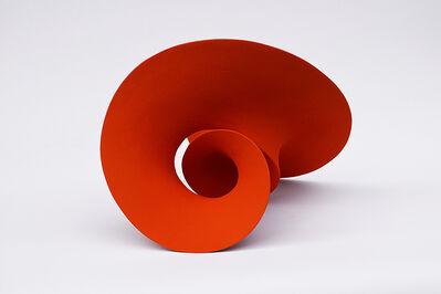 Merete Rasmussen, 'Red Orange Circling Form ', 2016
