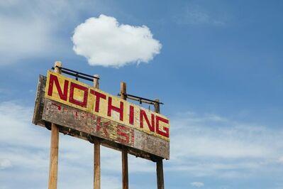 Paul Edmondson, 'Nothing', 2010
