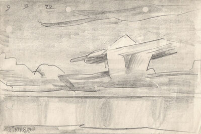 Lyonel Feininger, '(Cloud Formation)', 1922