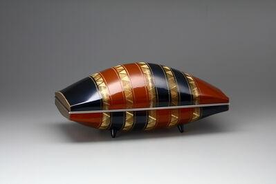 Tanaka Terukazu, 'Stripe Patterned box', 1997