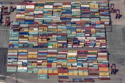 Klaus Leidorf, 'Containerland', 2015