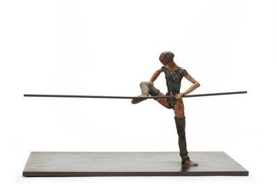Al Farrow, 'Cammy Stretching at Barre', 1980