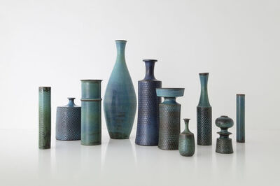 Stig Lindberg, 'Collection of Studio Vases, Gustavsberg, Sweden', ca. 1960