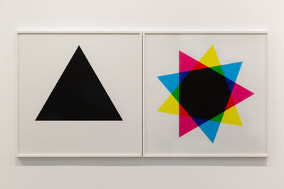Hamra Abbas, 'Misprint 1 (Diptych), 2019', 2019
