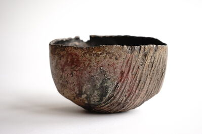 Yukiya Izumita 泉田之也, 'Flake Tea bowl', 2019