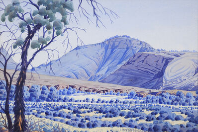 Walter Ebatarinja, '(Central Australian Landscape)', 1955