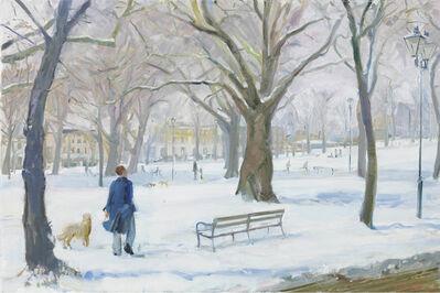 Nick Botting, 'Highbury after the snowfall'