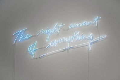 Olivia Steele, 'The Right Amount of Everything', 2017