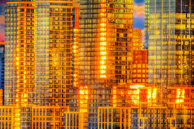 Mitchell Funk, 'Golden Reflections off Manhattan Skyscrapers', 2019