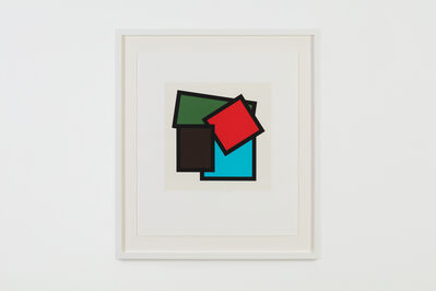 Mary Webb, 'Brown, red, green & blue', 1996
