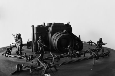 Nyein Chan Su, 'Toy Soldiers - Camera', 2014