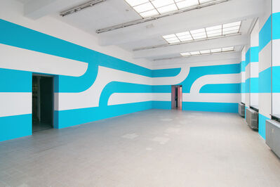 Jan van der Ploeg, 'Wall Painting No.360 - Grip', 2013
