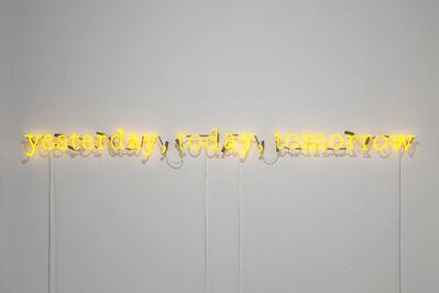 Joseph Kosuth, ''J.J. (F.W. #11)'  [yellow]', 2009