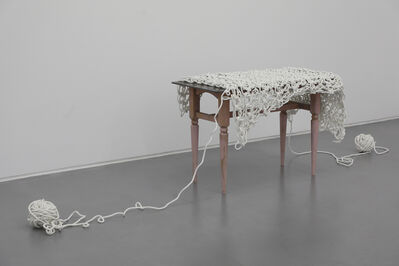 Susumu Koshimizu, 'Work Bench - Table Cloth of Ariadne ', 2010