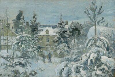 Camille Pissarro, 'Piette's House at Montfoucault', 1874