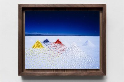 Scarlett Hooft  Graafland, 'Salt Pyramids', 2020