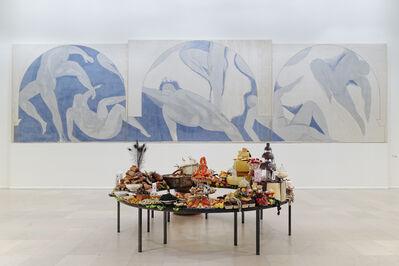 """Gilles Barbier, '"""" Le Festin II """" – presentation of a monumental work, Musée d'Art Moderne de la Ville de Paris, France (installation view)', 2014"""