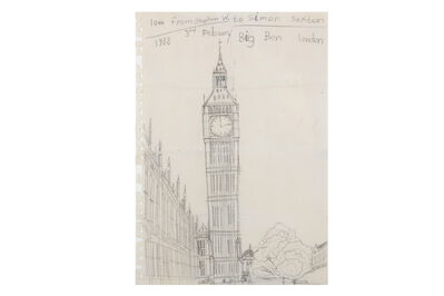 Stephen Wilthsire, 'Small Drawing Big Ben'
