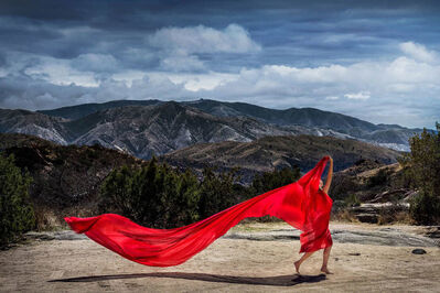 David Drebin, 'Red Mountains', 2018