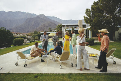Slim Aarons, ''Desert House Party' (Poolside Series, Slim Aarons Estate Edition)', 1970