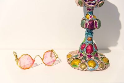 Thomas Lanigan-Schmidt, 'Untitled (Rose Color Glasses)', 1980's